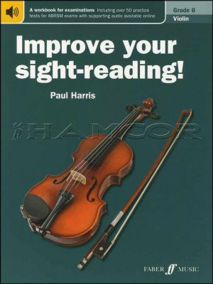 Improve Your Sight-Reading Violin Grade 6 Book/Audio