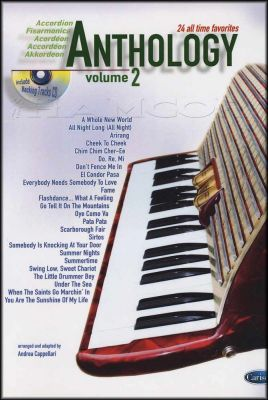 Anthology for Accordion 2 Book/CD