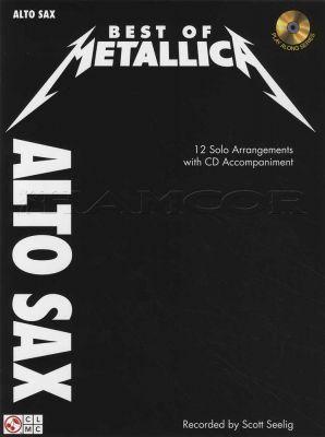 Best of Metallica for Alto Sax Book/CD