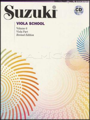 Suzuki Viola School Volume 6 Book/CD