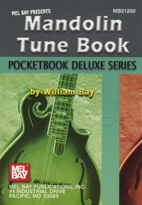 Pocketbook Deluxe Series Mandolin Tune Book