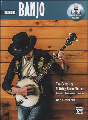 Beginning Banjo Book/Video/Audio