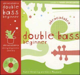 Abracadabra Double Bass Beginner Book/CD