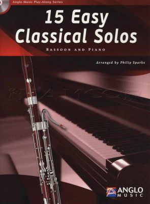 15 Easy Classical Solos for Bassoon Book/CD