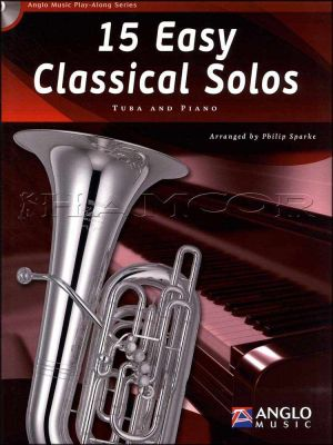 15 Easy Classical Solos for Tuba Book/CD