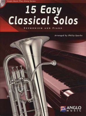 15 Easy Classical Solos for Euphonium Book/CD