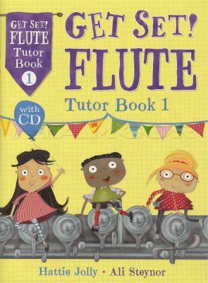 Get Set Flute Tutor Book 1 Book/CD