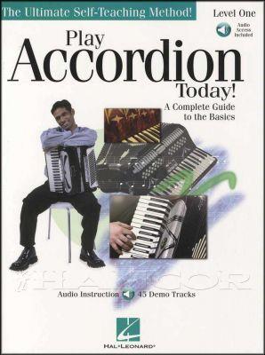 Play Accordion Today 1 Book/Audio