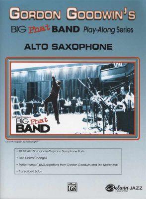 Big Phat Band Play-Along 1 Alto Sax Book/CD