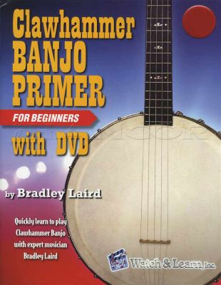 Clawhammer Banjo Primer For Beginner Deluxe Edition Book/DVD