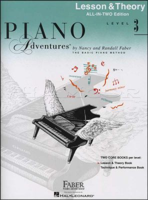 Piano Adventures Level 3 Lesson & Theory Book Only