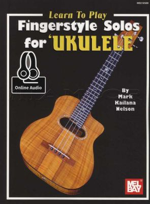 Learn To Play Fingerstyle Solos for Ukulele Book/Audio