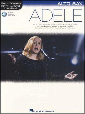 Adele Instrumental Play-Along for Alto Sax Book/Audio