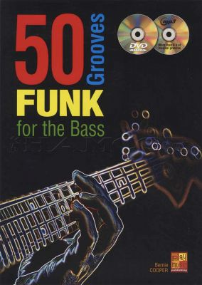 50 Funk Grooves for the Bass Book/DVD/MP3CD