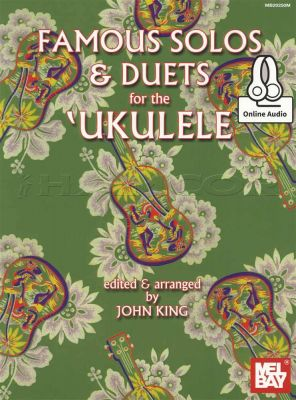 Famous Solos & Duets for the Ukulele Book/Audio