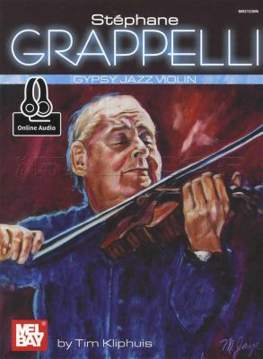 Stephane Grappelli Gypsy Jazz Violin Book/Audio