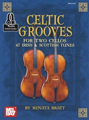 Celtic Grooves for Two Cellos Book/Audio