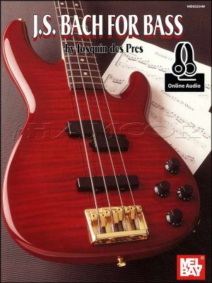 J S Bach for Bass Book/Audio