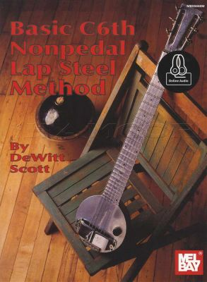 Basic C6th Nonpedal Lap Steel Method Book/Audio