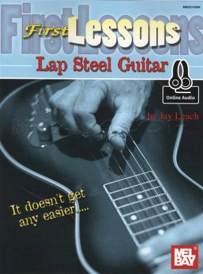 First Lessons Lap Steel Guitar Book/Audio