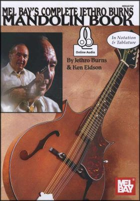 Complete Jethro Burns Mandolin Book/Audio