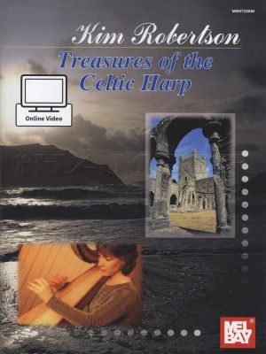 Treasures of the Celtic Harp Book/Video