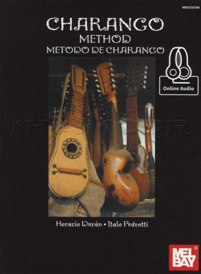Charango Method Book/Audio