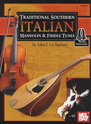 Traditional Southern Mandolin & Fiddle Tunes Book/Audio