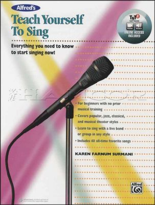 Teach Yourself to Sing Book/Audio/Video