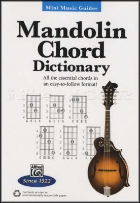 Mandolin Chord Dictionary Mini Music Guides