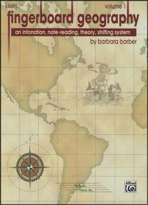 Violin Fingerboard Geography Volume 1