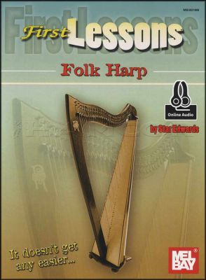 First Lessons Folk Harp Book/Audio