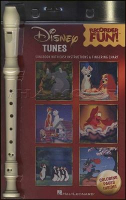 Disney Tunes Recorder Fun Book/Instrument