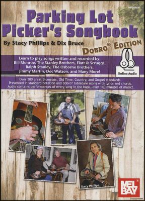 Parking Lot Picker's Songbook Dobro Edition Book/Audio
