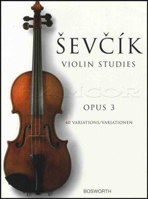 Sevcik Violin Studies Opus 3