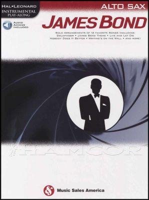 James Bond Play-Along for Alto Sax Book/Audio
