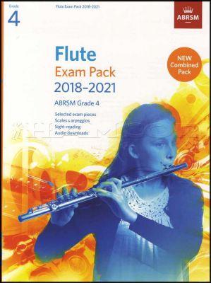 Flute Exam Pack 2018-2021 ABRSM Grade 4