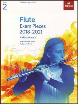 Flute Exam Pieces 2018-2021 ABRSM Grade 2
