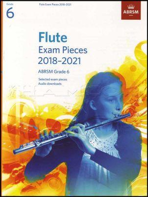 Flute Exam Pieces 2018-2021 ABRSM Grade 6