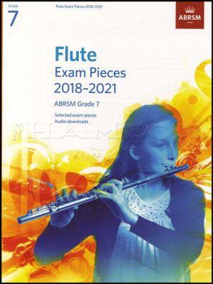 Flute Exam Pieces 2018-2021 ABRSM Grade 7