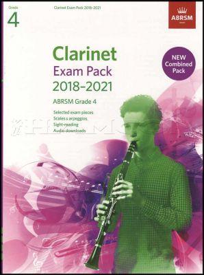 Clarinet Exam Pack 2018-2021 ABRSM Grade 4