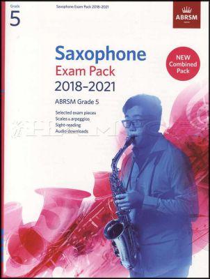 Saxophone Exam Pack 2018-2021 ABRSM Grade 5