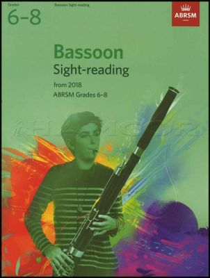 Bassoon Sight Reading from 2018 ABRSM Grades 6-8
