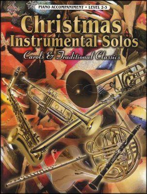 Christmas Instrumental Solos for Piano Accompaniment