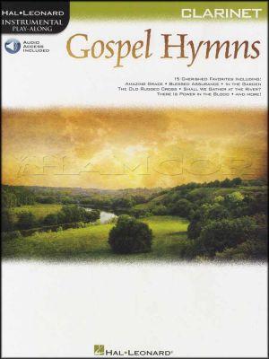 Gospel Hymns Instrumental Play-Along for Clarinet Book/Audio