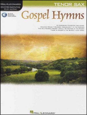 Gospel Hymns Instrumental Play-Along Tenor Sax Book/Audio