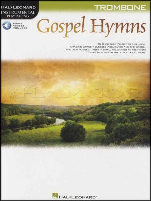 Gospel Hymns Instrumental Play-Along for Trombone Book/Audio