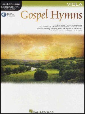 Gospel Hymns Instrumental Play-Along for Viola Book/Audio