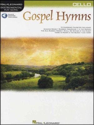 Gospel Hymns Instrumental Play-Along for Cello Book/Audio