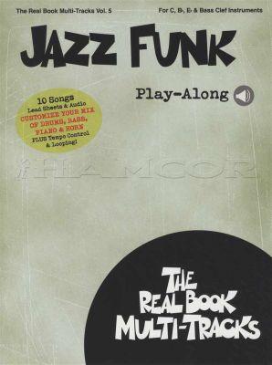 Jazz Funk Real Book Multi Tracks Book/Audio